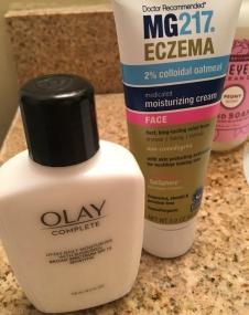 Olay - Moisturizer with SPF 15 + MG217 Moisturizer for Eczema