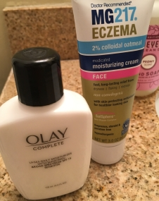 Olay - Moisturizer with SPF 15 + MG217 Moisturizer for Eczema