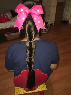 Pony Tail: 3 in 1 Faux Fishtail Braid