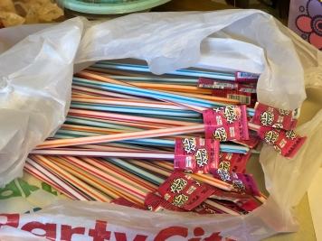 Summer classmate treat with Pixy Stix