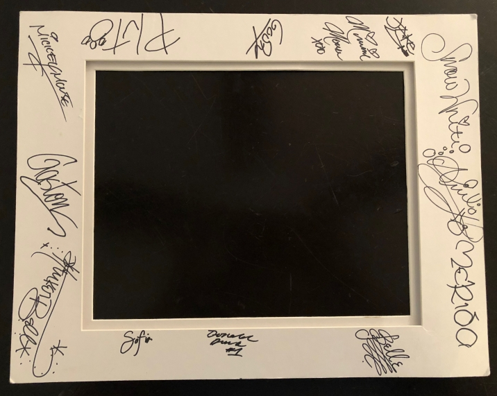 Disney World: 2018 Character Signing Mat