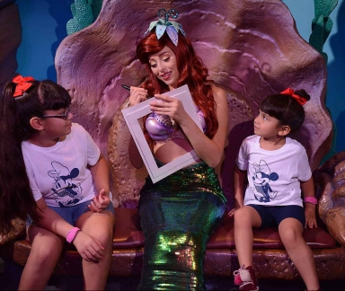 Ariel from Disney's 'The Little Mermaid'