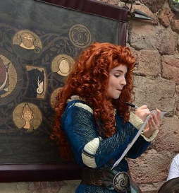 Merida from Disney's 'Brave'