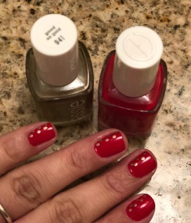 Essie: Really Red and Good As Gold